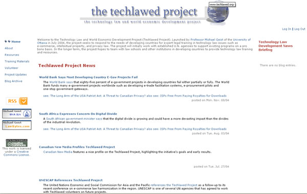 The Techlawed Project