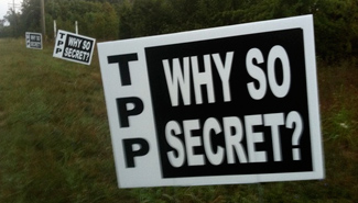 TPP - tpp why so secret? by Public Citizen (CC BY-NC-SA 2.0) https://flic.kr/p/daKbUD