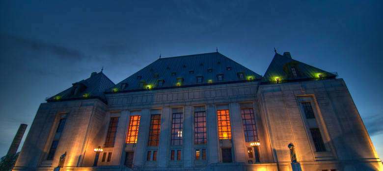 Supreme Court in Ottawa by Alex Nobert (CC BY-NC-SA 2.0)