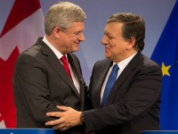 PM Harper visits Brussels to conclude Canada-EU Trade Negotiations by Stephen Harper (CC BY-NC-ND 2.0) https://flic.kr/p/gLRSYL
