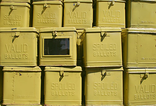 ballot boxes by Keith Bacongco (CC BY 2.0) https://flic.kr/p/3rcHKm