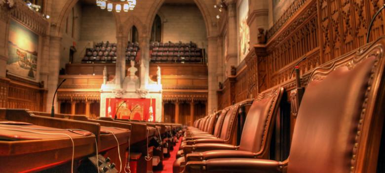 Senate Chamber HDR by Intiaz Rahim (CC BY-NC-ND 2.0) https://flic.kr/p/5LhGZg