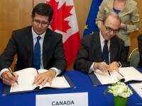 EU-Canada signing ceremony by European Union http://tvnewsroom.consilium.europa.eu/event/eu-canada/eu-canada-signing-ceremony#/gallery/0