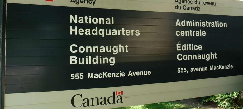 Canada Revenue Agency (CRA) national headquarters in Ottawa by Obert Madondo (CC BY-NC-SA 2.0) https://flic.kr/p/oWPkF8