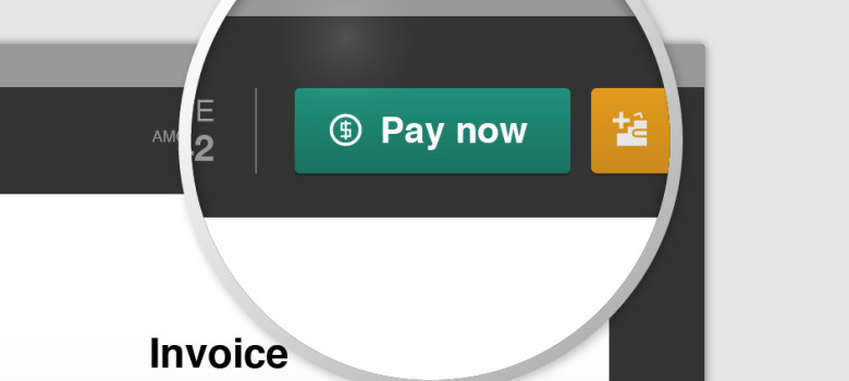 Invoice payment button by Recrea HQ (CC BY-NC-SA 2.0) https://flic.kr/p/f87gio
