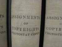 Assignments of copyrights photostat copies by mollyali (CC BY-NC 2.0) https://flic.kr/p/5JbsPE