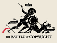 THE BATTLE OF COPYRIGHT 2011 by CHRISTOPHER DOMBRES (CC BY 2.0) https://flic.kr/p/9RQRd5