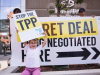 TPP rally. Ottawa, Canada, June 10 2014 by SumOfUs (CC BY 2.0) https://flic.kr/p/o8zqnJ