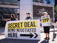 TPP rally. Ottawa, Canada, June 10 2014 by SumOfUs (CC BY 2.0) https://flic.kr/p/o8zHmw