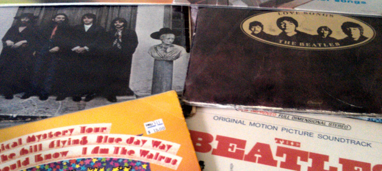 Beatles Vinyl by Erwin Bernal (CC BY 2.0) https://flic.kr/p/axnRZ4