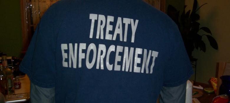 treaty enforcement by Sarah Deer (CC BY 2.0) https://flic.kr/p/4AfLUo
