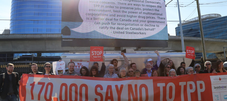 TPP Vancouver Rally by Leadnow Canada (CC BY-NC 2.0) https://flic.kr/p/GooPJ6