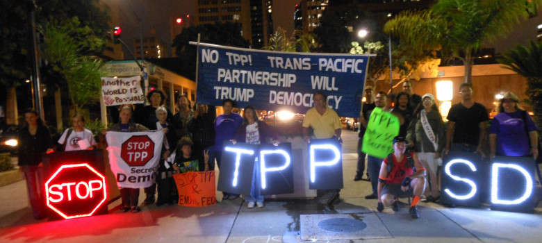STOP TPP by Chris West (CC BY 2.0) https://flic.kr/p/qohXkM