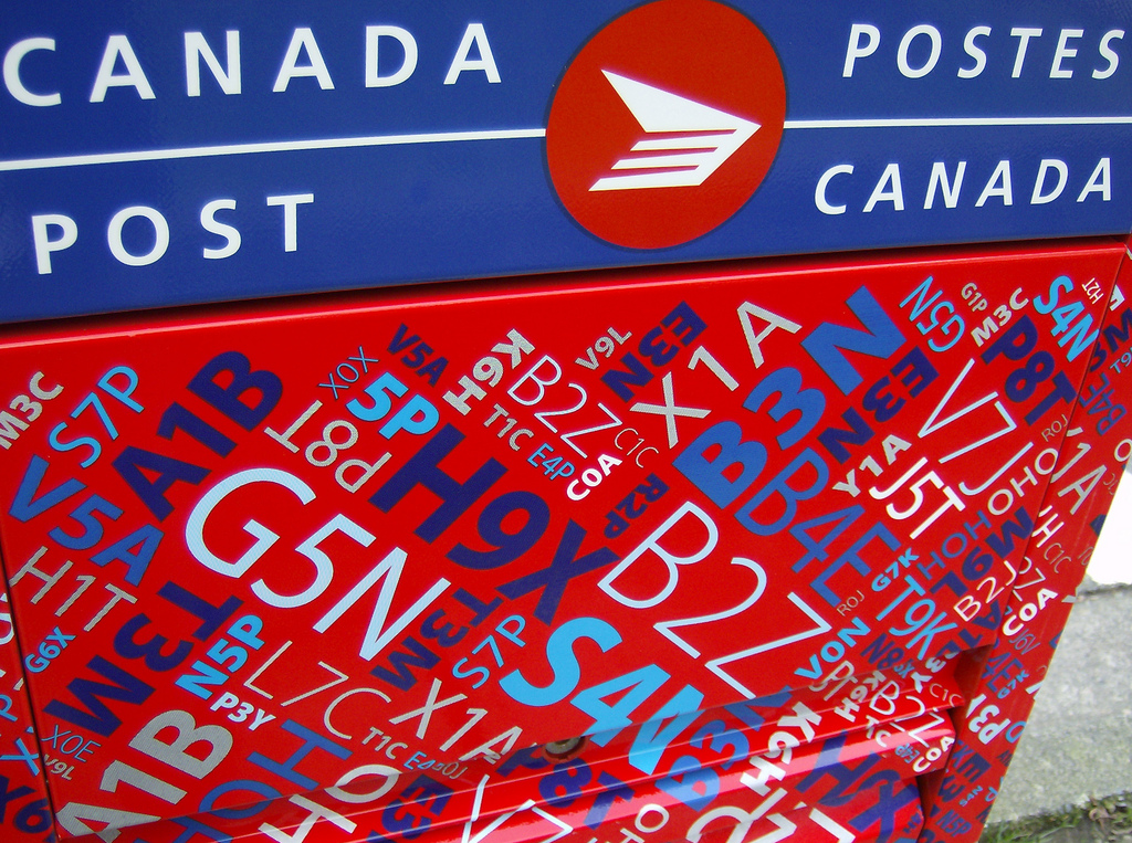 canadian postal code example