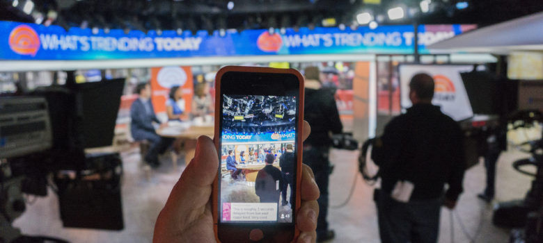 Twitter's Periscope App TODAY Show NBC by Anthony Quintano (CC BY 2.0) https://flic.kr/p/rN43Pw