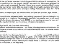 Notice and Notice notice