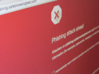 Phishing warning by Christiaan Colen (CC BY-SA 2.0) https://flic.kr/p/x9zYUh