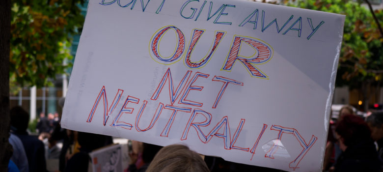 Protect Net Neutrality rally, San Francisco by Credo Action (CC BY 2.0) https://flic.kr/p/Zu6BD3