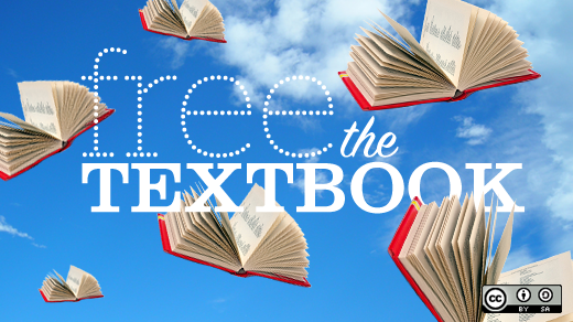 Flat World Knowledge: Open College Textbooks by opensource.com (CC BY-SA 2.0) https://flic.kr/p/7FkcGW