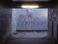 Question Everything (Nullius in verba) Take nobody's word for it by Duncan Hall (CC BY 2.0) https://flic.kr/p/iVLZt