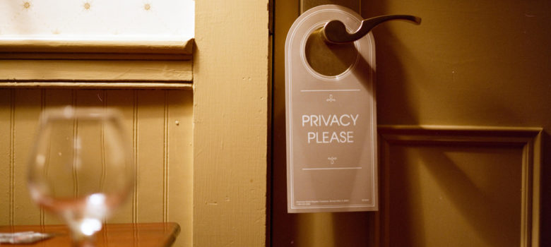 Privacy Please by ricky montalvo (CC BY-ND 2.0) https://flic.kr/p/8RF3Ez