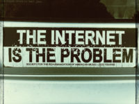 The Internet is the Problem by Alex Pang (CC BY-NC-SA 2.0) https://flic.kr/p/dvKhNb