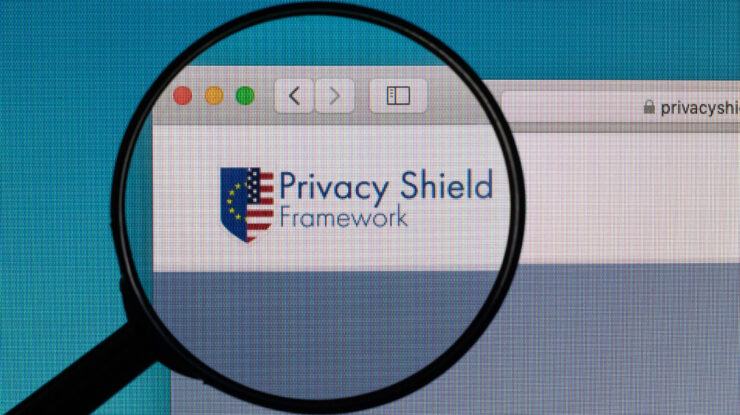 Privacy Shield Framework logo under magnifying glass by Marco Verch https://foto.wuestenigel.com/privacy-shield-framework-logo-under-magnifying-glass/ https://creativecommons.org/licenses/by/2.0/
