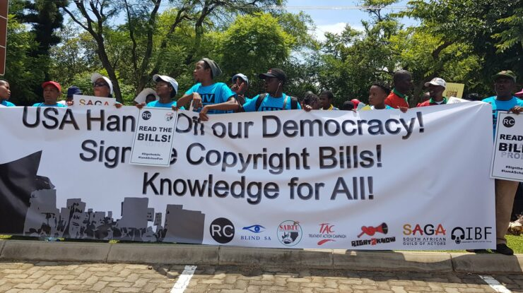 SADTU National, Copyright Bill Protest, https://twitter.com/SadtuNational/status/1231905922806620160?s=20
