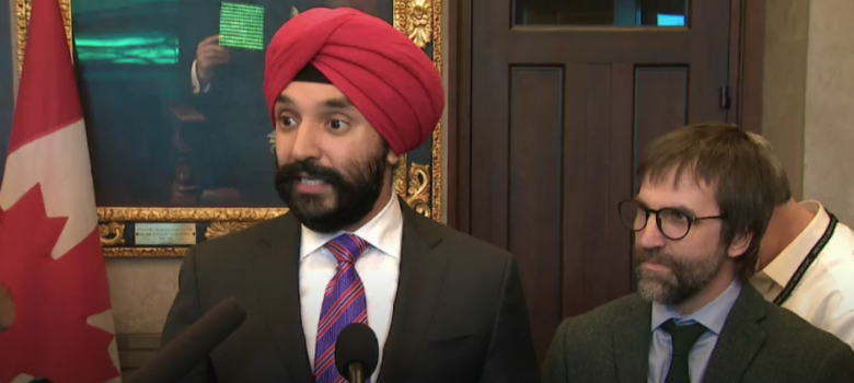 Bains and Guilbeault, January 29, 2020, Federal Government Responds to Report on Broadcasting and Telecom Laws, CPAC, https://www.cpac.ca/en/programs/headline-politics/episodes/66143990/#