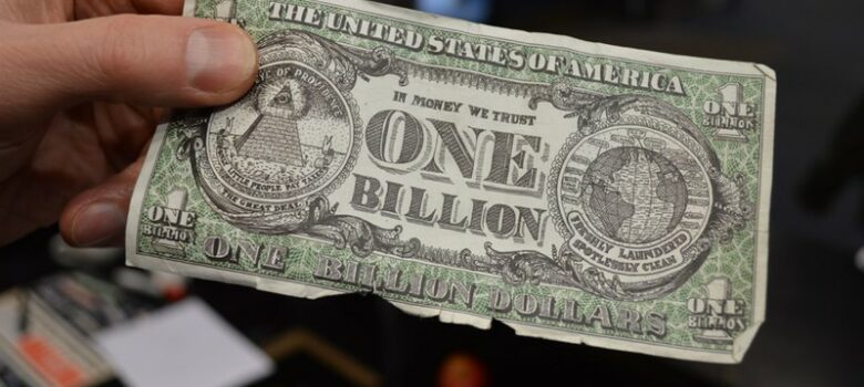 One Billion Dollars by Matt Brown (CC BY 2.0) https://flic.kr/p/pq2SsN