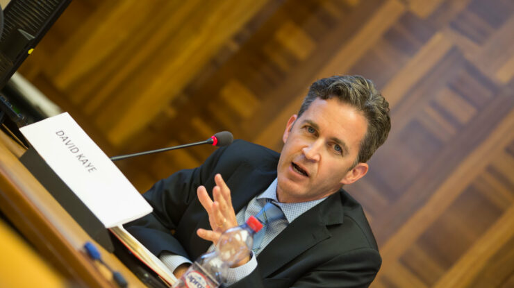 "UN Special Rapporteur on the promotion and protection of the right to freedom of opinion and expression, David Kaye, speaks at the side event on ""the misuse of anti-terrorism laws in Africa"" on June 16 by Maina Kiai https://flic.kr/p/uPXDgD (CC BY 2.0)"