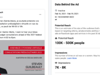 Guilbeault Facebook Ad https://www.facebook.com/ads/library/?active_status=all&ad_type=political_and_issue_ads&country=CA&view_all_page_id=270094633001228