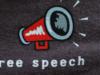 Free Speech by John Morton (CC BY-SA 2.0) https://flic.kr/p/h6wm8
