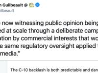 Guilbeault tweet, May 10, 2021, https://twitter.com/s_guilbeault/status/1391928193154695176?s=20