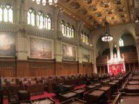 Senate Chamber, Canadian Parliament, Ottawa by Paulo O https://flic.kr/p/2bzA6Ae (CC BY 2.0)