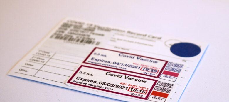 COVID-19 Vaccine Record Card by NIAID (CC BY 2.0) https://flic.kr/p/2maPFYd