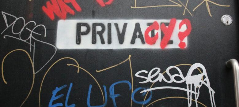 Privacy? by KylaBorg (CC BY 2.0) https://flic.kr/p/r3vWa6